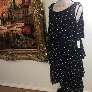NWT STUNNING POLKA DOT DRESS Size 18w